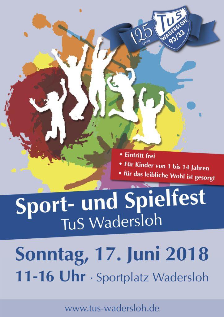 Spielfest-Plakat
